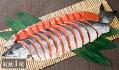 【4701】特上塩紅鮭1/4切身真空パック