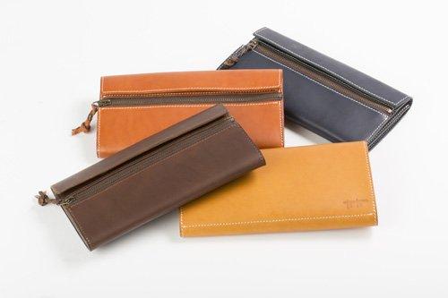 【ふるさと納税】tanikoオリジナル財布(黒)
