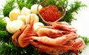 【ふるさと納税】帆立&甘海老&醤油漬けいくらセット【魚貝類/海鮮セット】