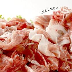【ふるさと納税】≪7カ月待ち以上≫肉屋のプロ厳選! 北海道産の豚肉 スライス4kg盛り!!(使いやすい500g×8袋) 画像1