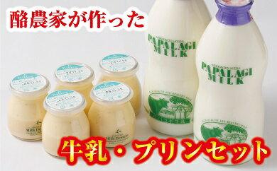 【ふるさと納税】A32-3 牛乳・プリンセット