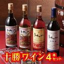 【ふるさと納税】A01-2 十勝ワイントカップ4本セット...