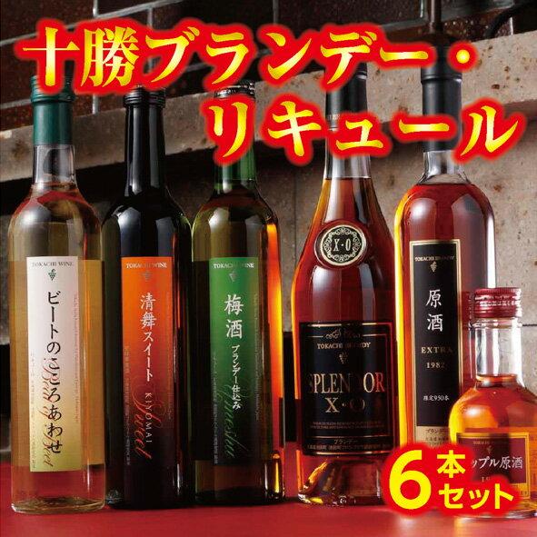 【ふるさと納税】C01-2 十勝ブランデー・リキュール6本セット:北海道池田町