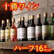 【ふるさと納税】C01-3 十勝ワインハーフ16本セット