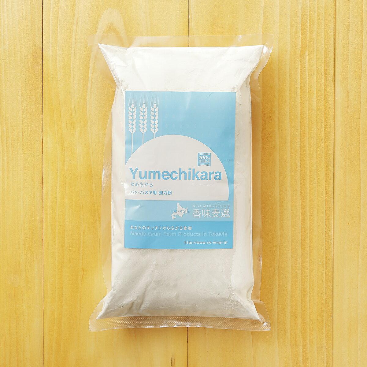 北海道十勝 前田農産パン用小麦粉「ゆめちから」5kg