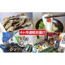 【ふるさと納税】厚岸町牡蠣お楽しみセット〜連続4ヶ月お届け〜