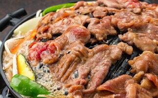 【ふるさと納税】ラム肉味付けジンギスカン500g×3パック 【お肉】