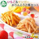【ふるさと納税】437.北海道 イチゴ マンゴー かりんとう...