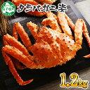 【ふるさと納税】 蟹 ボイルタラバ姿 1.2kg 北海道加工...
