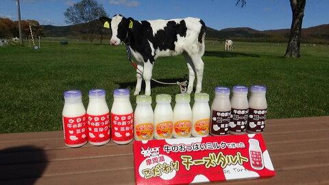 【ふるさと納税】牛のおっぱいミルクセット2