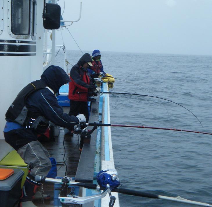 【ふるさと納税】北海道といえば、秋鮭!イカ!の船釣り体験(5名様)