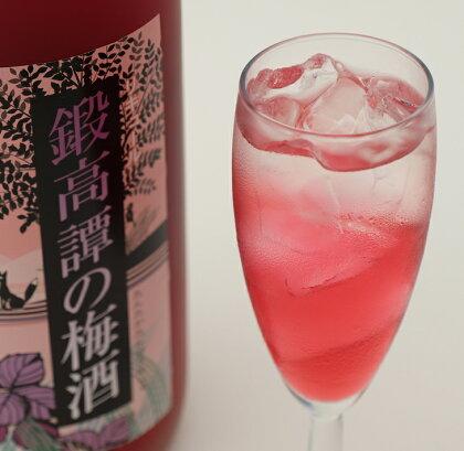 鍛高譚(たんたかたん)の梅酒[1800ml]【6本セット】