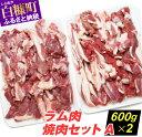 【ふるさと納税】ラム肉焼肉セットA【600g×2パック】