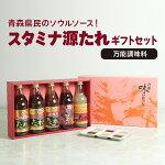 【ふるさと納税】スタミナ源たれ万能調味料セット(TK5-260A)【1005974】