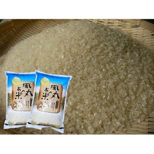 【ふるさと納税】新米 令和2年産米 つがるロマン(精米)10kg(5kg×2袋) 風丸農場のお米 【お米・精米】 お届け:2020年11月上旬〜2021年6月30日の画像