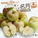 【ふるさと納税】青森県鰺ヶ沢町産りんご ヒバリノ園のぐんま名月(わい化栽培)約4〜5kg (10〜14玉) 【果物類・林檎・りんご・リンゴ・ぐんま名月・フルーツ】 お届け:2021年10月25日〜2021年11月5日