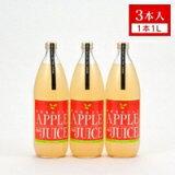 【ふるさと納税】三戸りんごジュース(やまさん農園)