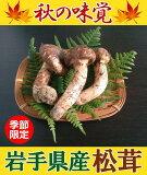 岩手県産天然松茸ミックスサイズ(家庭用)約200g《季節数量限定》