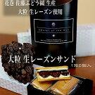 大粒生レーズンサンド(佐藤ぶどう園産使用)