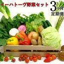 【ふるさと納税】《定期便3ヶ月コース》イーハトーヴ野菜セット