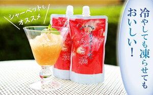 【ふるさと納税】江刺りんごジュース りんごの滴(パウチタイプ) 195ml×24個 ストレート果汁100%[A049]