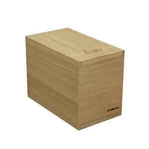 【ふるさと納税】岩谷堂箪笥職人が作るIwayado craft 米びつ 5kg 木地仕上げ[AF03]