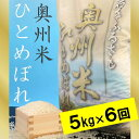 【ふるさと納税】☆全6回定期便☆ 奥州米ひとめぼれ 5kg×...