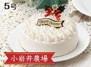 【ふるさと納税】 ★期間限定★ 小岩井農場 クリスマスケーキ