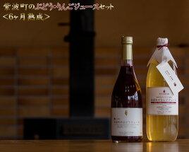 【ふるさと納税】No.017紫波町のぶどう・りんごジュースセット<6ヶ月熟成>