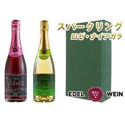 【ふるさと納税】4202エーデルワインスパークリングワイン2本セット