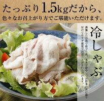 【ふるさと納税】南部高原豚しゃぶしゃぶセット合計1.0kg特製ゆずポン酢付
