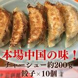 【ふるさと納税】絶品自家製チャーシューと焼餃子セット