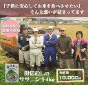 【ふるさと納税】田伝むしのササニシキ白米4kg(農薬:栽培期...