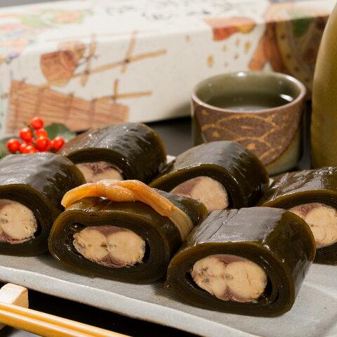 【ふるさと納税】さんま昆布巻2本包み(醤油味1本・甘辛味1本)