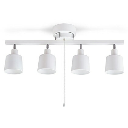 【ふるさと納税】4灯シーリングライト ストレート形 CE4LA-20S-W 【電化製品】