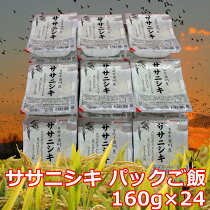 ササニシキパックご飯(24食)