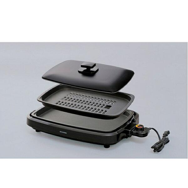 ふるさと納税 網焼き風ホットプレート2枚(APA-136-B) キッチン用品・調理家電