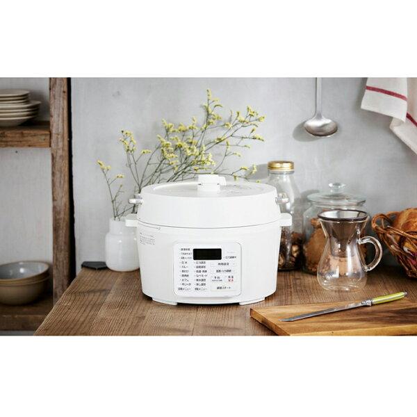 ふるさと納税 電気圧力鍋4.0LPC-MA4-W キッチン用品・調理家電・圧力鍋・なべ