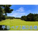 【ふるさと納税】平日 ゴルフプレー券 ペア1組2名様 (セル...