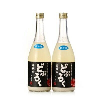 どぶろく寒風山 2本セット [お酒・日本酒]