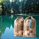 【ふるさと納税】あきたこまち( 無洗米 ) 男鹿の湧水 滝の頭米 5kg×2袋 【お米・あきたこまち・無洗米・計10kg・米】 お届け:2021年1月中旬頃から順次発送予定。