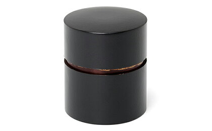 [樺細工]帯筒 茶筒(平)ぶけやしき