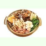 【ふるさと納税】【期間限定お届け!】地鶏山の芋・キリタンポ鍋セット4人前