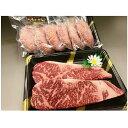 【ふるさと納税】U032 羽後和牛熟ハンバーグ6個+羽後和牛サーロインステーキ400g