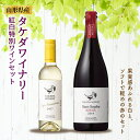 【ふるさと納税】〈タケダワイナリー〉紅白特別ワインセット