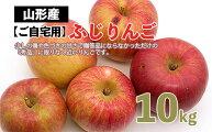 【ふるさと納税】FY20-613【ご自宅用】りんご(〇秀/ふじ)10kg