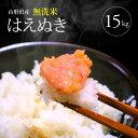 【ふるさと納税】無洗米はえぬき 5kg×3袋 計15kg 令