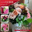 【ふるさと納税】≪定期便≫毎月バラを飾ろう「バラのある生活」