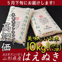 【ふるさと納税】5月下旬配送! 平成30年産米 10kg(5...