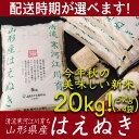 【ふるさと納税】たっぷり新米20kg! 「清流寒河江川育ち ...
